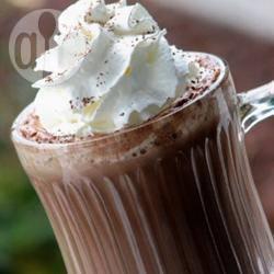 Eenvoudige warme chocolademelk recept