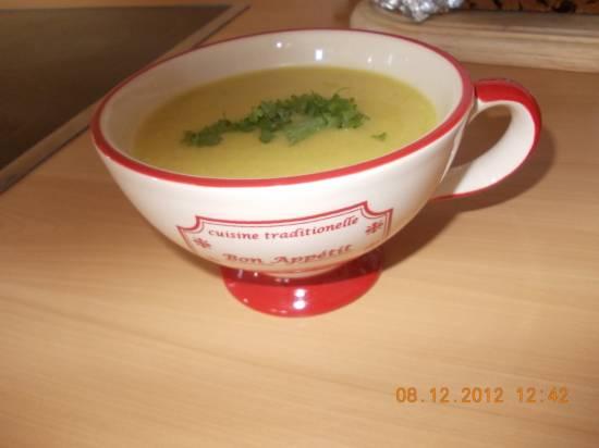 Pastinaak, citroen en gember soep recept
