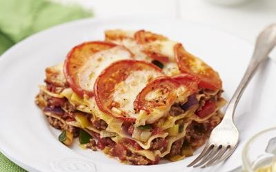 Lasagne met mozzarella recept