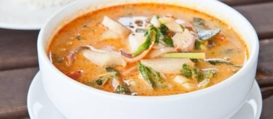 Tom yum goong (thaii hot & sour shrimp soup) recept