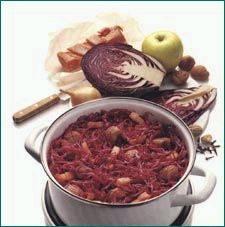 Rode kool met appeltjes op grootmoeders wijze recept