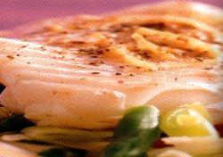 Op groenten gestoomde kabeljauw recept