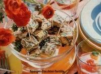 Pittige tortillahapjes met courgette en gedroogde tomaatjes recept ...