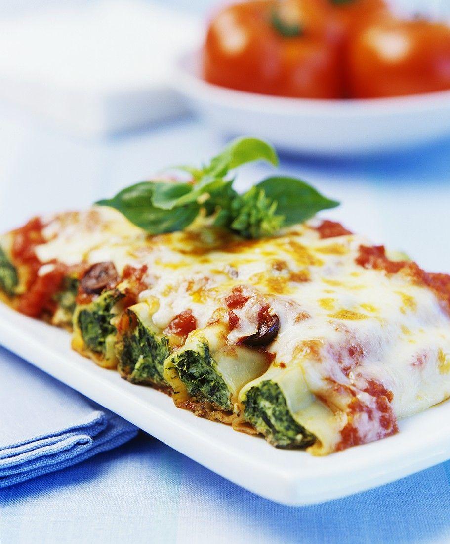 recept cannelloni met spinazievulling njam