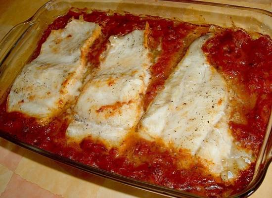 Kabeljauwfilets met tomaten, balsamico en parmezaan recept ...