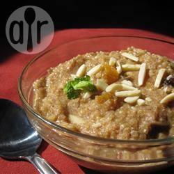 Quinoa ontbijtpap recept