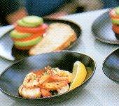 Roergebakken knoflookgarnalen recept