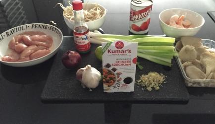 Chinese szechuan soep recept
