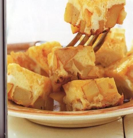 Geweldige tapas aardappelomelet (tortilla) recept