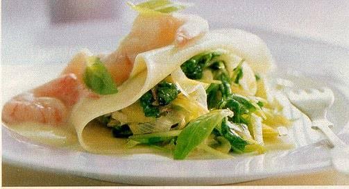 Lasagne met raapstelen recept