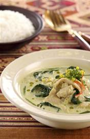 Groene kipcurry recept