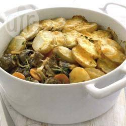 Lamsstoofschotel met aardappels recept