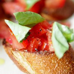 Italiaanse bruschetta recept