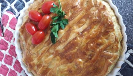 Spanakopita taart. recept