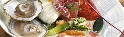 Pot au feu, zeekreeftjes, tongfilets en oesters recept
