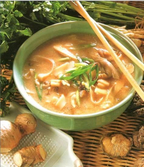 Szechuan soep recept