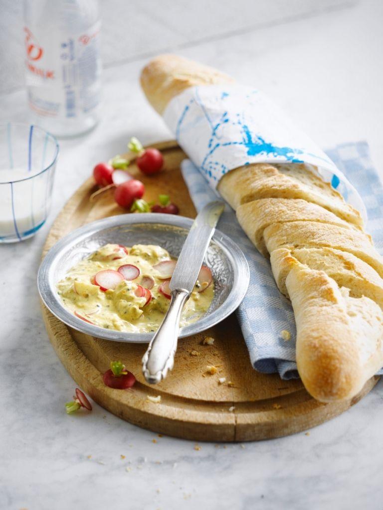 Recept 'pikante yoghurtdip'