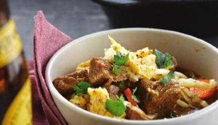 Ierse stoofpot met mosterdpuree recept