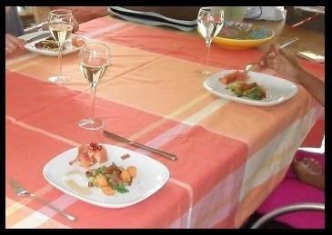 Salade met serranoham en meloen recept