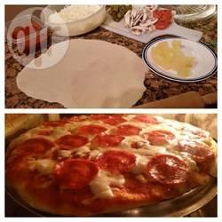 Snel pizzadeeg recept