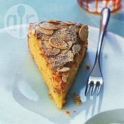 Sinaasappel-amandelcake recept