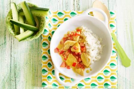 Opperdepop: kokoskip met ananas 1-2 jr