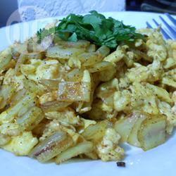 Nepalees roerei recept