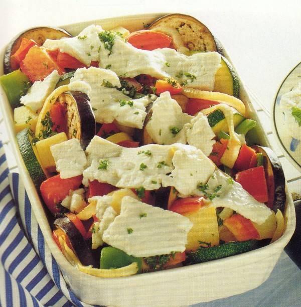 Voorjaars-groenteschotel uit de oven. recept
