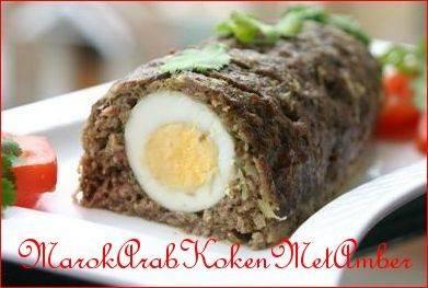 Gehaktbrood uit de medina recept