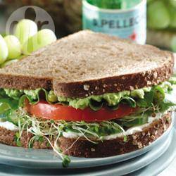 Komkommer sandwich recept