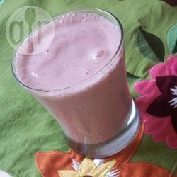 Banaan-aardbeien smoothie recept
