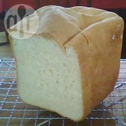 Zwitsers boterbrood voor in de broodbakmachine recept