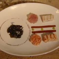 Tartaar van gegrilde zalm en tonijn recept