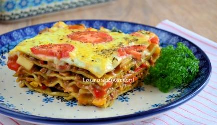 Lasagne van restjes recept