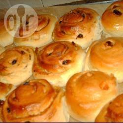 Chelsea broodjes met chocolade vulling recept
