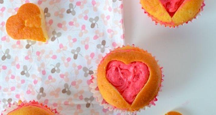 Valentijns cupcakes | valentine cupcakes