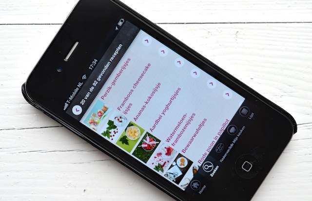 De leukste food apps voor de iphone