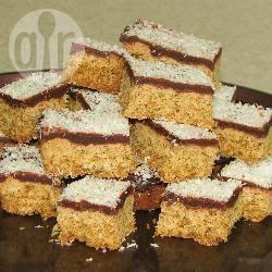 Chocolade-kokosnoot weetabix repen recept