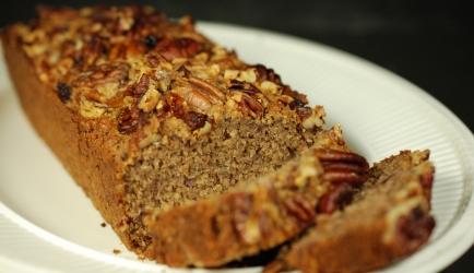 Glutenrvrij bananenbrood met haver (ook lactosevrij en suike ...