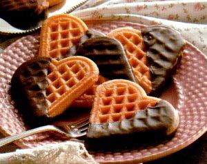 Wafels met chocolade recept