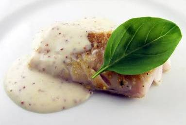 Kabeljauw met mosterdsaus en wortelpuree recept