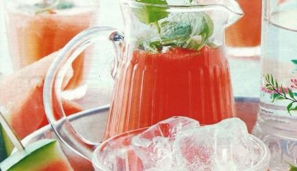 Watermeloenlimonade recept