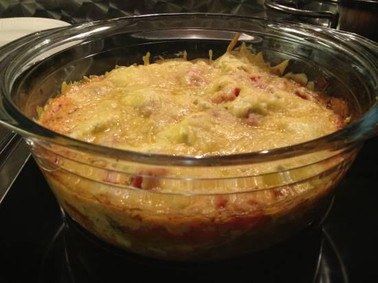 Italiaanse visschotel uit de oven recept