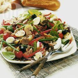 Provençaalse paprika-tonijnsalade recept