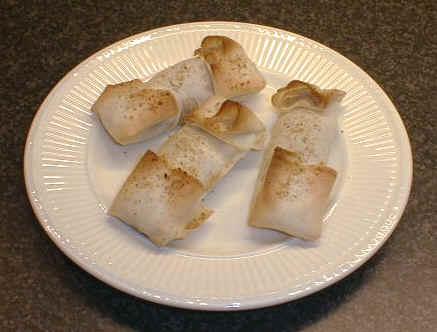Loempia's uit de oven. recept