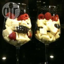 Trifle van citroen en framboos recept