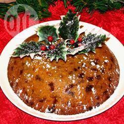 Gestoomde kerstpudding recept