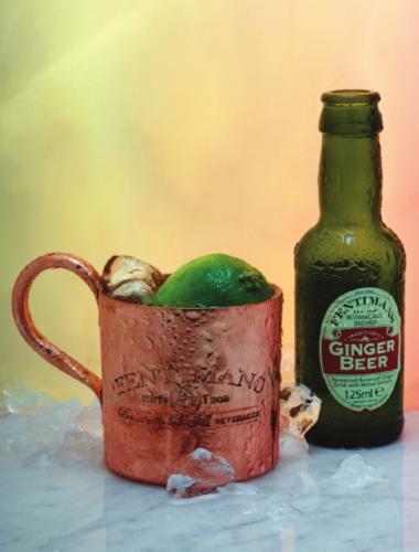 Recept 'gin maple mule'