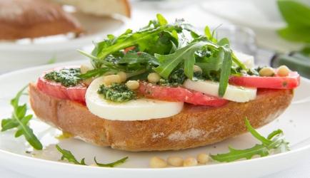 Broodje caprese recept