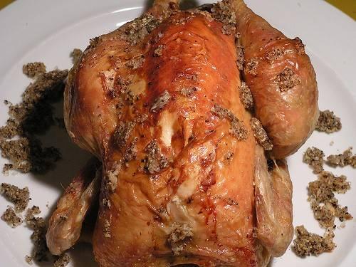 Gegrilde kip in een hartig-zoete marinade recept
